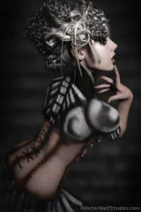 Cyborg by girltripped - http://www.deviantart.com/art/Cyborg-93035486