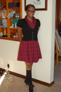 Fall School Outfit