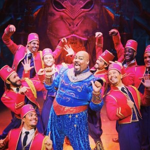 "James Monroe Iglehart as the Genie in ""Aladdin"" on Broadway."
