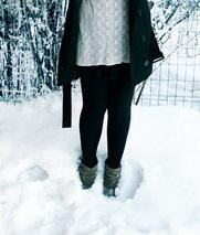snowy legs