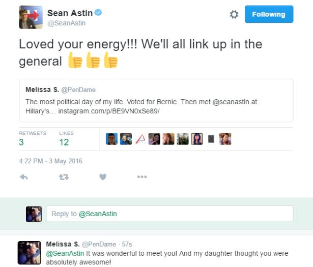 Sean Astin tweeted me!! ^_^